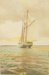 Untitled [Sailboat]; Thompson, Fred; ca. 1900s; 1986:0024:0004