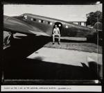 Austin on the C-45 At the National Warplane Museum; Stone, Jim; ca. 1985; 1986:0013:0010