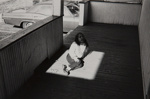 Untitled [Child in sun]; Hynes, Arthur; undated; 2009:0091:0017