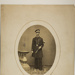 [Oval Portrait of Man Standing in Uniform]; Bill, Charles K.; ca. 1860; 1977:0067:0001