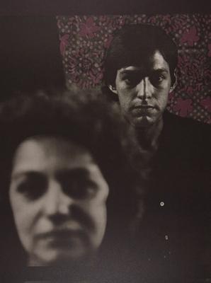 Presences [Woman and man]; Lyons, Joan; 1980; 1981:0004:0010
