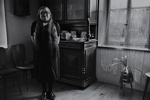 Untitled [Woman in room]; Saur, Francoise; ca. 1970s; 1986:0016:0009