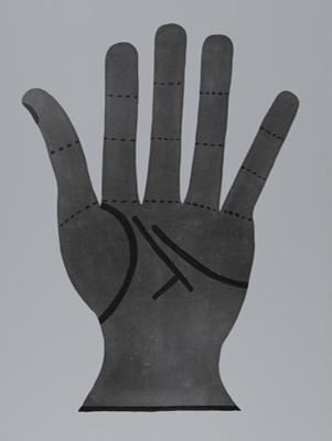 Untitled [Hand] ; Starr, Nina Howell; ca. late 1960s; 1971:0503:0001