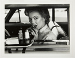Marilyn at the Drive-In; Halsman, Philippe; 1952; 1987:0013:0007