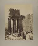 Balbek. Colonnes cannelées du Proanos du temple; Bonfils, Félix; c.a. 1870; 1979:0112:0009