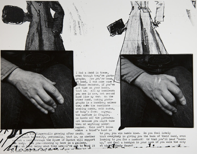 Untitled [Hands]; Parker, Bart; ca. 1975; 1983:0046:0001