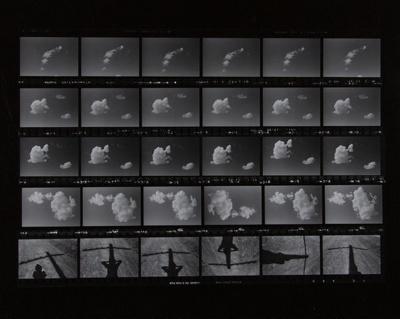 Untitled [Clouds]; Sample, Tricia; 1974; 1986:0008:0004