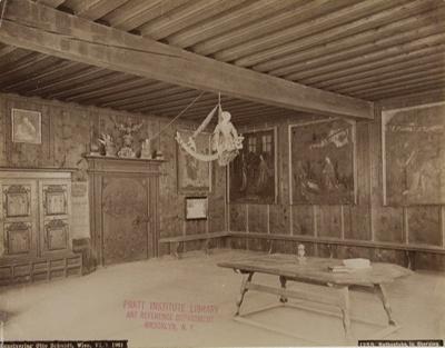 Untitled [Rathsstube in Sterzing]; Schmidt, Otto; 1895; 1977:0075:0002