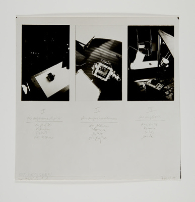 The Positions of Photography ; Neusüss, Floris M.; 1975; 1983:0003:0021