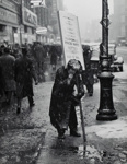 Snowstorm in Manhattan, New York City.  Winter of 1935-36 14th Street near 5th Ave; Lee, Russell; 1935-36; 1971:0265:0001