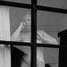 Untitled [Nude woman in window]; Colwell, Larry; 1954; 1978:0082:0001