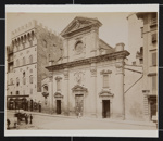 Chiesa di Santa Trinita, Florence, Italy; Fratelli Alinari; ca. 1880-1910; 1979:0117:0021