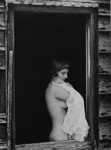 Untitled [Woman with nightgown]; Colwell, Larry; ca. 1950s; 1978:0046:0001