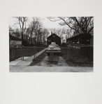 Untitled [House with Car in Driveway]; Brese, Denis; 1973; 1973:0061:0010