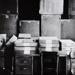 Untitled [Archival Boxes in the V.S.W. Storeroom]; Bretz, Robert L.; 1981; 1981:0042:0004