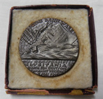Lusitania Medallion; Gordon Selfridge; 1916; 2014.08