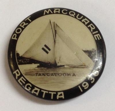 Badge, Port Macquarie Regatta; 1936; 2013.63