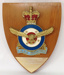 Plaque, RAAF Association Branch Efficiency Trophy; Badges & Crests 1986 Ltd.; 1978; 2018.119