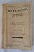 Book, Matrimony:Its Obligations and Privileges; Health Promotion Ltd.; 1916; B839
