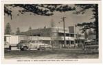 Postcard, Hotel Macquarie and Picnic Area Port Macquarie NSW; Murray Views; 1950s; 2013.12b