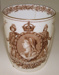 Commemorative Beaker, Australian Federation; Doulton & Co.; 1900; C153