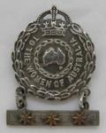 Female Relative Badge; Amor Ltd.; c1943; 2016.40