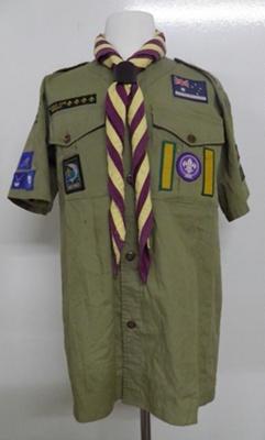 Sea Scout Uniform; Barden; c1992; 2013.31-33