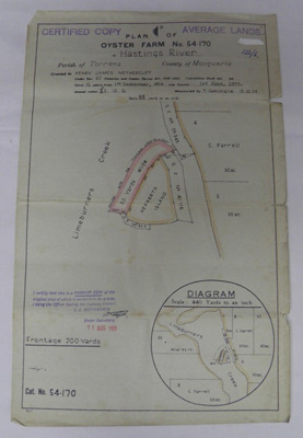 Oyster Lease; 1955; 64.84