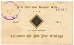 Christmas Card; 1940; 203