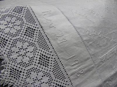 Supper Cloth; 1918; 90.93