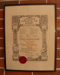 Certificate, London College of Music Diploma; McCorquodale & Co. Limited; 1936; 39.85