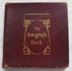 Autograph Book, Isabella Florence Wade; 1908-1918; 77.85b
