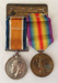 British War Medal 1914-18, Len Fountain; 1921; 2018.60