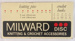 Sign, Milward Knitting & Crochet Accessories; c1970s; 2014.33