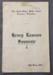 Henry Lawson Souvenir Booklet; The Kingston Press; 1924; 1905