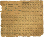 Meat Ration Card issued to N Anderson; 1948; 2014.67
