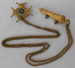 Badge, Whistle & Chain; 1840s; 2018.18