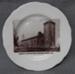 Souvenir Plate, Church of England, Port Macquarie; Victoria Czechoslovakia - Schmidt & Co.; 1919-1938; 49.86b