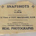 Souvenir Photographs, Views of Port Macquarie; Rose Stereograph Co.; 1933-1946; 2016.21