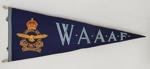 Souvenir Pennant, WAAAF; c1945; 45.90