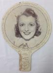 Advertising Fan, Janet Gaynor; c1938; B89.48b