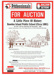 Leaflet, Rawdon Island Public School for auction ; 1989; 2013.02