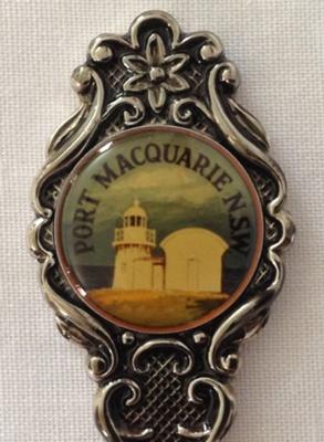 Souvenir Teaspoon, Port Macquarie NSW; Perfection; 2015.80