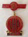 Badge, UHA Life Membership Maude Keena; Perfection; 1977; 1.83b