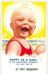 Postcard, 'Happy as a King!...At Port Macquarie'; Bamforth & Co. Ltd.; 1945; 2018.78