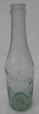 Soda Water Bottle, E Haydon; 1915-1917; G91