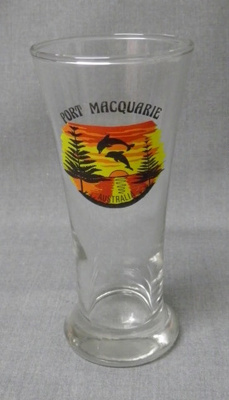 Souvenir Glass, Port Macquarie Australia ; c1990s; 2014.54
