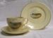 Souvenir Cup, Saucer & Plate Set, The Nobbys , Port Macquarie; Crown Devon Fieldings; 1950s; 2010.35