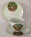 Souvenir Cup, Saucer & Plate Set, Fantasy Glades Port Macquarie; Westminster China; c1970; 2018.58