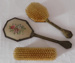 Brush and Mirror Set; 1930s; 5824
